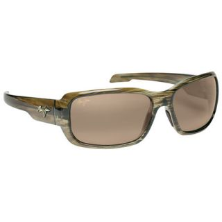 Maui Jim Hamoa Beach Sunglasses   Root Beer Frame with HCL Bronze Lens 732157