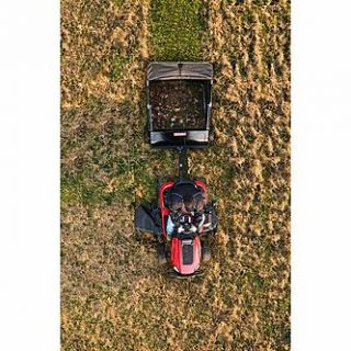 Craftsman 44 High Speed Sweeper Attachment for Riding Mowers   Lawn