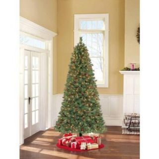 Holiday Time Pre Lit 7.5' Hammond Pine Artificial Christmas Tree, Clear Lights