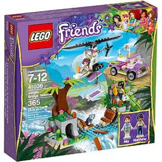 LEGO Friends Jungle Bridge Rescue   Toys & Games   Blocks & Building