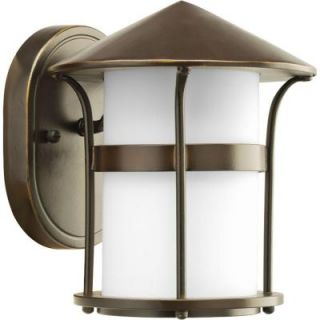 Progress Lighting Welcome Collection Antique Bronze 1 Light Wall Lantern P6003 20