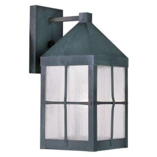 Filament Design Providence Wall Mount 1 Light Outdoor Hammered Charcoal Incandescent Lantern CLI MEN2681 61