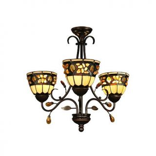 Dale Tiffany Pebblestone 3 Light Fixture
