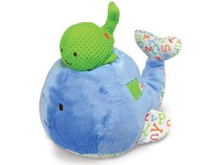 Smarty Kids Plush Mama and Baby Whale Musical Toy