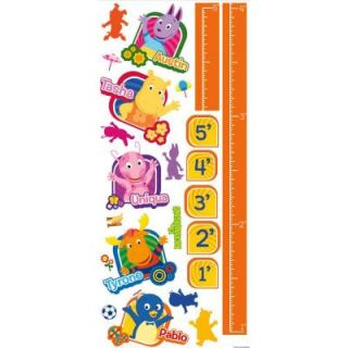 RoomMates Backyardigans Peel and Stick Growth Chart Wall Decals RMK1913GC