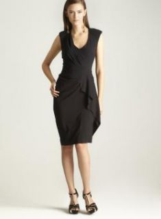 Nicole Miller Stretch Silk Twill Dress  ™ Shopping   Top