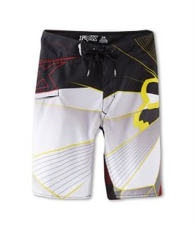 fox kids radeon boardshort big kids red