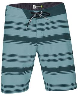 Volcom Static Layer Mod Stripe Boardshorts   Swimwear   Men