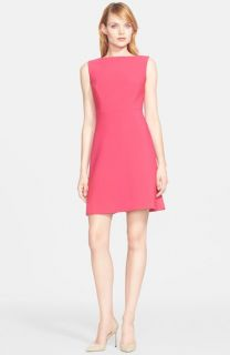 kate spade crepe a line dress