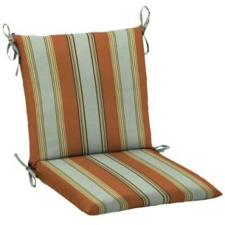 Hampton Bay Fontina Stripe Mid Back Outdoor Chair Cushion AD20552B D9D1