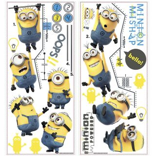 Despicable Me 2 Movie Growth Chart Wall Decal by Wallhogs