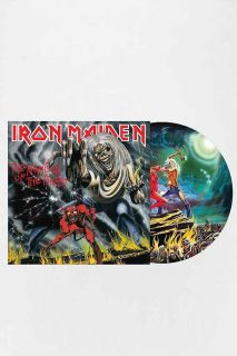 Iron Maiden   The Number Of The Beast Picture Disc LP
