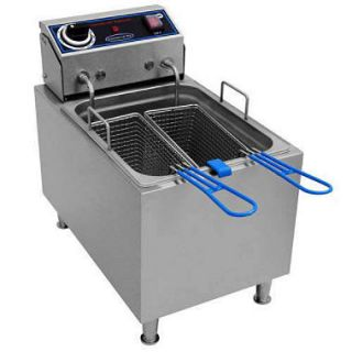 Commercial Pro Countertop Electric Fryer   16 lbs.