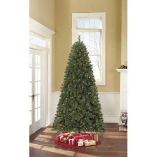 Holiday Time Pre Lit 7.5' Ezstore Hayden Spruce Artificial Christmas Tree, Clear Lights