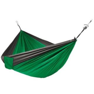 Best Choice Products Portable Parachute Hammock Nylon Hanging Outdoor Camping Patio Green