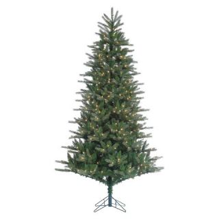 ft. Pre Lit Natural Cut Franklin Spruce Artificial Christmas Tree