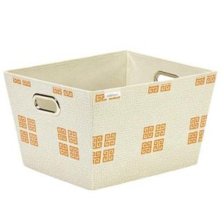 Seda France Large Polypropylene Grommet Tote in Cameo Key Cream SF 85029