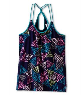 roxy kids oak holly tank big kids indigo triangle pattern