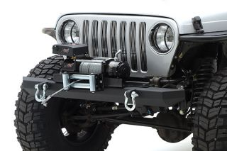 1987 1995 Jeep Wrangler Light Guards & Covers   Smittybilt 5659   Smittybilt Euro Headlight Guards