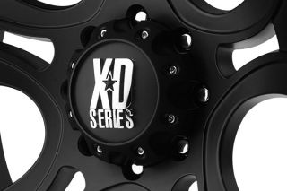 "XD Series XD80179050700   5 x 5"" Bolt Pattern Black 17"" x 9"" XD Series 801 Crank Matte Black Wheels   Alloy Wheels & Rims"