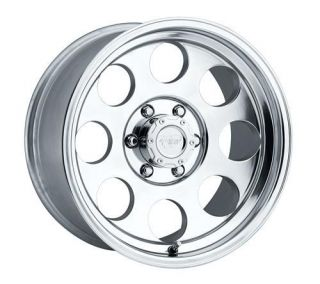 Pro Comp Alloy Wheels   Series 1069, 18x9 with 8 on 6.5 Bolt Pattern   Polished
