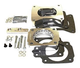 1996, 1997, 1998 Ford Mustang Throttle Body Spacers   Taylor Cable 46035   Taylor Cable Helix Power Tower Throttle Body Spacer