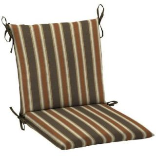 Hampton Bay Scottsdale Stripe Mid Back Outdoor Chair Cushion FD05552B 9D4