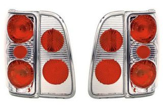 1998 2002 Lincoln Navigator Tail Lights   IPCW CWT CE524C   IPCW Euro Tail Lights