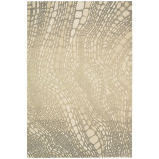 Palisades Lava Flow Light Olive Area Rug by Kathy Ireland Home Gallery