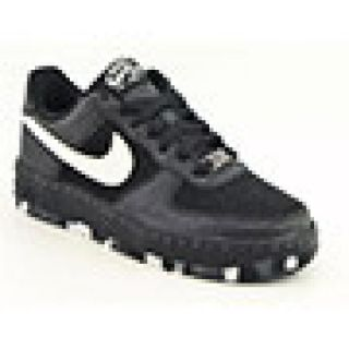 Nike Youth Kids Boyss Air Force1 (GS) Black Athletic