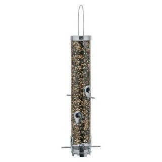 Droll Yankees Classic Sunflower Mixed Seed Feeder   Silver