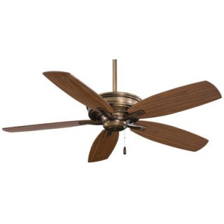 Minka Aire Kafe 5 Blade Ceiling Fan with Handheld Remote