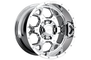 BMF SOTA PVD Chrome Truck Rims    on BMF SOTA Alloy Truck Wheels