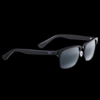 Maui Jim Kawika Sunglasses   Black Gloss Frame/Antique Pewter/Neutral Grey Lens