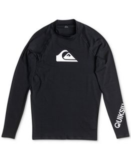 Quiksilver All Time Long Sleeve Rashguard   Swimwear   Men