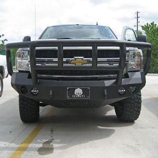 Road Armor Stealth Base Front Bumper With Titan II Guard 2008 2010 Chevy 1500