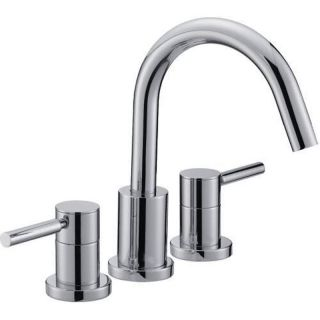Mirabelle MIRED3RTCP Polished Chrome Roman Tub Faucet