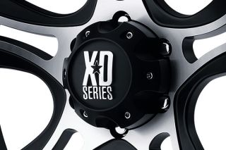 "XD Series XD80189050500   5 x 5"" Bolt Pattern Two Tone 18"" x 9"" XD Series 801 Crank Matte Black Machined Wheels   Alloy Wheels & Rims"