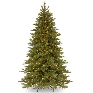 foot Feel Real Yukon Fir Hinged Tree with 750 Clear Lights