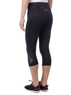 Tog 24 Tempo womens TCZ stretch running tights Black