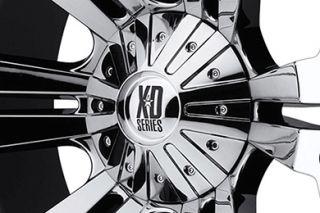"XD Series XD77821087212N   8 x 170mm Bolt Pattern Chrome 20"" x 10"" XD Series 778 Monster Chrome Wheels   Alloy Wheels & Rims"