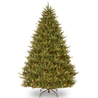 National Tree Co. Natural Fraser 7.5 Green Christmas Tree with 750