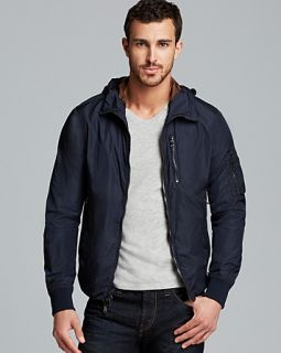Michael Kors Hooded Blouson Jacket