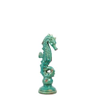 Urban Trends Collection White Small Ceramic Sea Horse