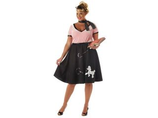 50's Poodle Dress School Girl Costume