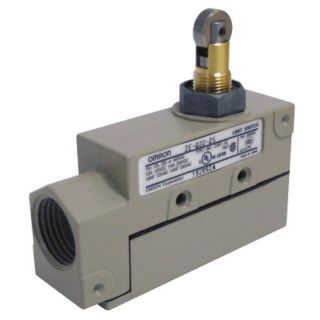 OMRON Enclosed Limit Switch, 480VAC/250VDC Voltage Rating, 15 Amps, Top Actuator Location   Limit / Interlock Switches   3XG58|ZE Q22 2S