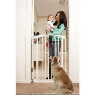 Dreambaby Chelsea Extra Tall Auto Close Security Gate, White