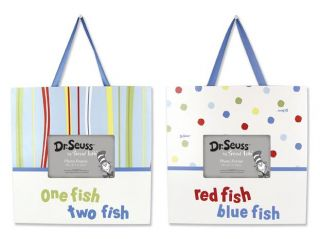 Trend Lab 30193 Frame Set   Dr. Seuss One Fish Two Fish