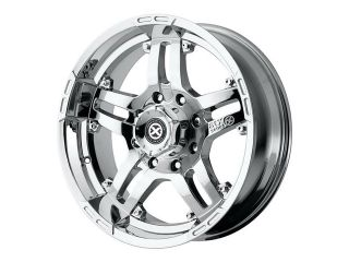 ATX AX181 Artillery 18x8 6x130 +50mm PVD Chrome Wheel Rim