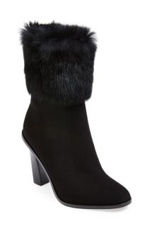 Via Spiga Maddyn Genuine Rabbit Fur Trim Boot (Women)